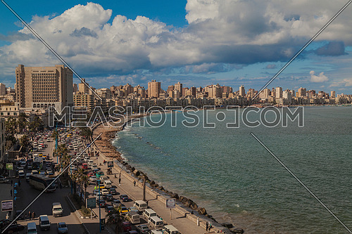Panorama shot for Alexandria City at Day