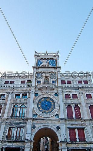 Venice Italy San marco square belltower view