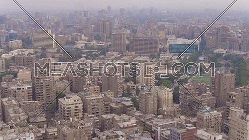 Fly over Shot Drone reaveling maadi area in 22th of March 2018 at day.