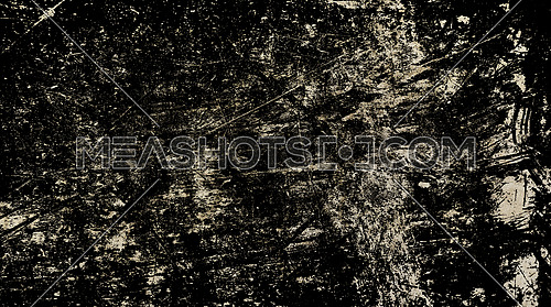 Grunge old vintage dirty shabby distressed black texture background with uneven noise
