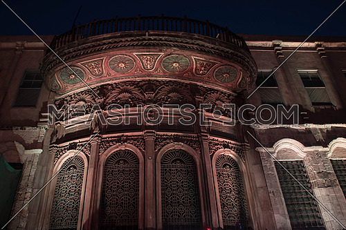Muhamed ali Pasha's Sabil in Moaz Street at Cairo at night
