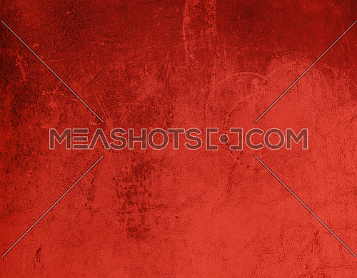 Grunge uneven abstract background of dark red maroon leather grain texture with stains and scratches