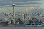 Seattle Space Needle - time lapse (1 of 3)