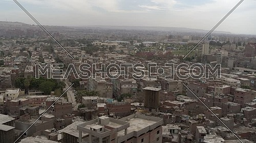 Fly over Ain El Sira Area in Misr El Qadema district in Cairo - 12th Mars 2019 - by Dusk