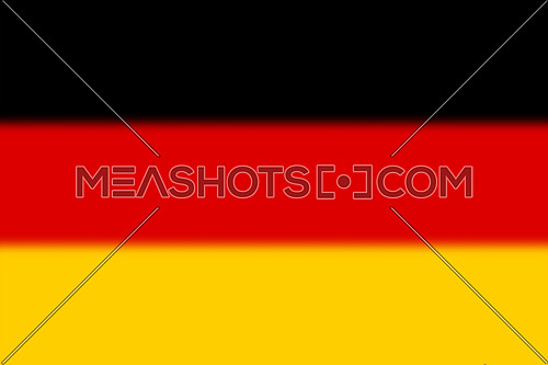 German national flag three color background