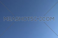 Commercial jet flies directly overhead (2 of 3)