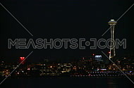 Seattle's Space Needle early evening (1 of 4)
