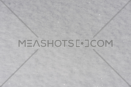 fresh snow close up background in winter forest landscape nature in sunny morning