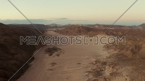 flying over Desert in Dahab , Sharm el sheikh