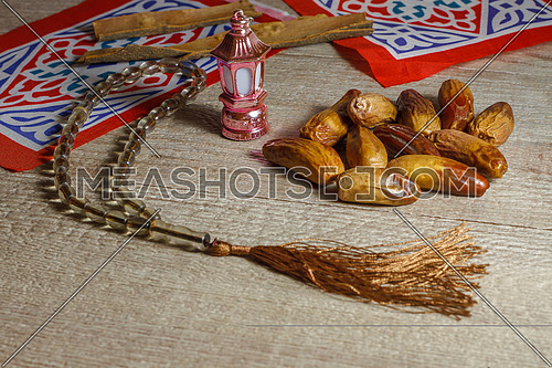 Dates and Ramadan Decorations