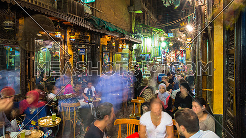 El-Fishawi in downtown Cairo Egypt