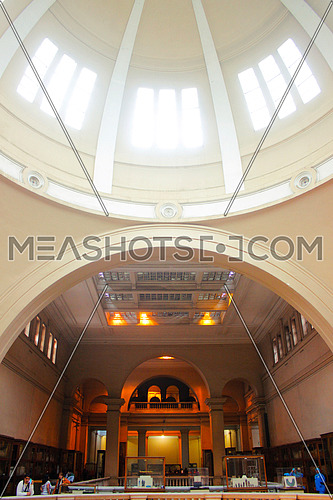the dome of the egyptian museum