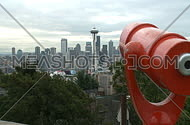 Tourist's view of downtown Seattle (1 of 2)