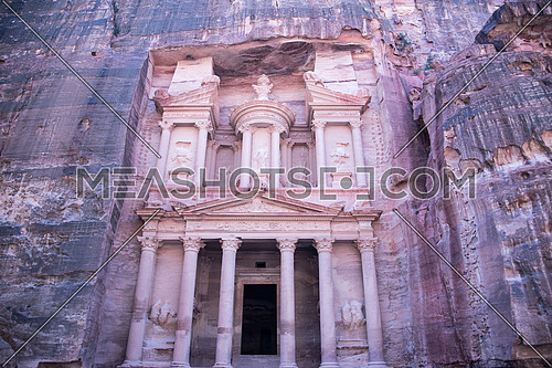 Main Scene in Petra Jordan the Monument