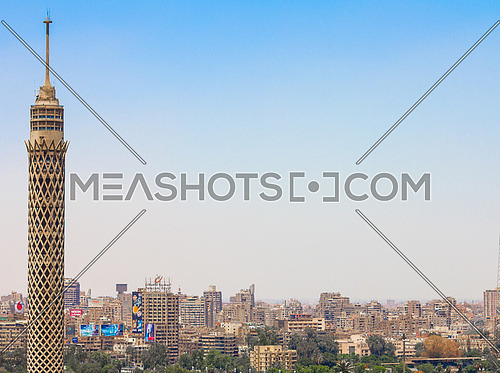 Cairo Tower with clear sky