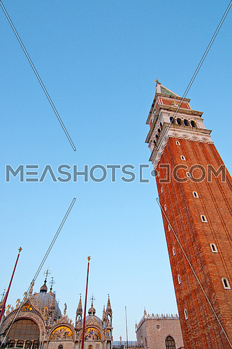 Venice Italy a view of the  most touristic place in the world