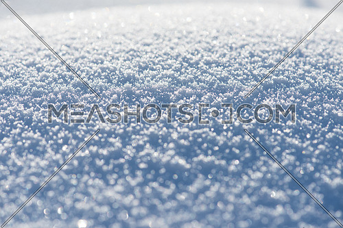abstract winter snow christmas  background  at sunny day with copy space