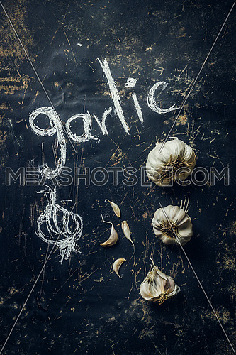 Allium sativum, commonly known as garlic, is a species in the onion genus,Its close relatives include the onion, shallot, leek, chive