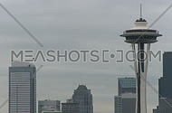 Seattle's Space Needle - medium zoom in