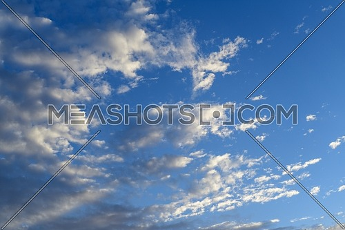 Clouds and blue sky in Ain Sokhna