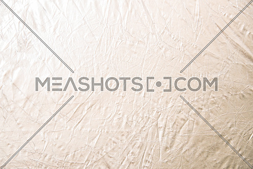 a white crumpled background