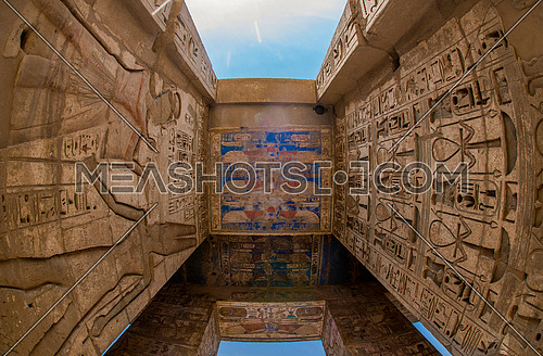 Temple of Habu in Luxor