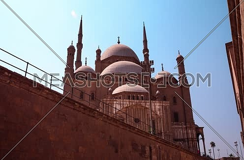 Timelapse for Saladin Citadel in Cairo at Day