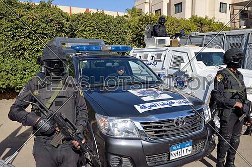 Egyptian police special forces fast response team