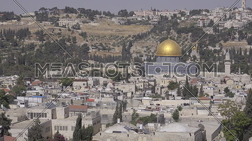 Scene of the Dome of the Rock in Jerusalem