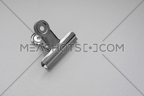 Small spring clamp made of metal