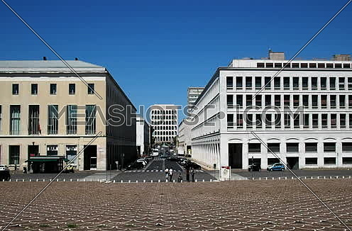 Headquarters of Fendi Italia, Palazzo della Civilta Italiana, Eur district